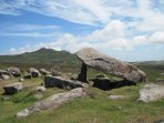 Cromlech on St Davids Head