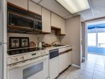 Prepare your favorite meal in this fully-equipped kitchen.