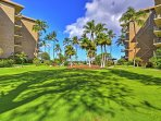 This superb Kihei vacation rental condo is ideally situated within the pristine Village by the Sea complex, right on...