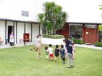 Residential garden for your family activities at the roof top
