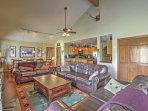 The open layout of this home is perfect for family gatherings.