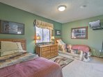 This home is the ideal choice for 2 or 3 couples traveling with children.