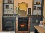 2nd Floor King Bedroom Fireplace