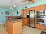 Kitchen packed with the amenities of home.