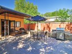 You'll love spending time on the fully furnished patio.