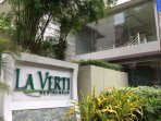 La Verti Residence - name of the condo complex