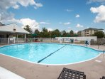 Cool off in one of our two outdoor pools!