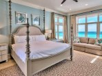 3rd Floor Master King Suite feat. Sleeper Sofa and Astonishing Views of the Gulf