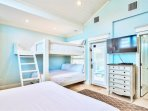 Carriage House: King Suite with Custom Made Queen Bunk and Private Bath