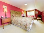 Very large bedroom with a very comfy superking size bed!