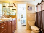 Jack and Jill bathroom for bedrooms 4 & 5