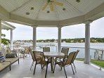 Relax outside and enjoy the views of the Manasquan River!