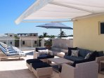 Enjoy sunrise and sunset over ocean and Intracoastal from rooftop oasis w pool!