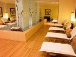 Enjoy a wonderful treatment at the spa