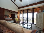 Living Room, Lanai and Master Bedroom