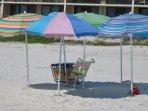 Multi Pastel Umbrellas