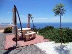 Cocina exterior también con vistas Y al mar Y a la Sierra Nevada