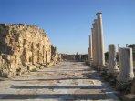 The Roman ruins of Salamis