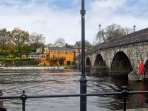 The bridge at Carrick on Shannon