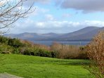 View from the grounds of the property across Kenmare Bay
