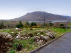 Views of Lough Corrib and the hills of Connemara from the property