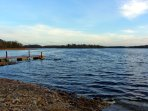Private access and jetty to Lough Key