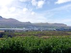 View from the property on Valentia Island to the mainland and Portmagee