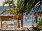 Private beach spot