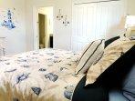 2nd Floor King Bedroom with 48-inch Smart HDTV