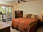 Master Bedroom with Queen Bed, Private Balcony