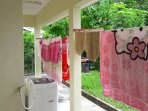 Laundry drying area