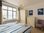 Master Bedroom with Sea Views and En Suite