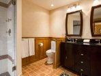 ensuite bathroom for guestroom upstairs