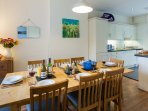 Tegfryn Kitchen/ Diner with Sea Views