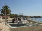 visit the Dhekelia military base for a shop, restaurant and the beach