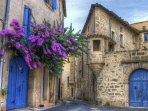 Pezenas is regularly voted the most beautiful town in the South of France