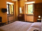 Double bedroom with lovely aspect