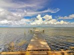 Utilize the dock at this wonderful Santa Rosa Beach vacation rental house!