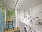 Wash your clothes in one of the complex's 2 laundry rooms, open from 7AM - 10:50PM daily.