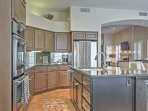 You'll love cooking in this spacious, fully equipped kitchen.