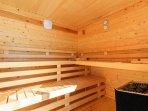 6 seater Sauna