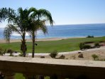 Right on the famous Cabo del Sol Golf Course