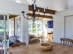 Breakfast/luncheon room opens to Screened Porch and Media Room