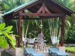 Palma Real cottage, Gazebo / BBQ.