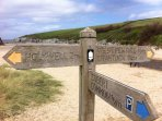 Coastal path at Polly Joke