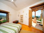 From the veranda you enter an independent bedroom with an en-suite bathroom/WC