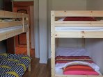Bedroom 3 with 2 bunkbeds