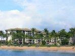 ocean front/ocean view villas