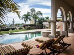 Enjoy your own private pool overlooking golf course and Sea of Cortez