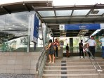 8 minutes within walking distance to MRT at Lat Phrao station, express underground trains